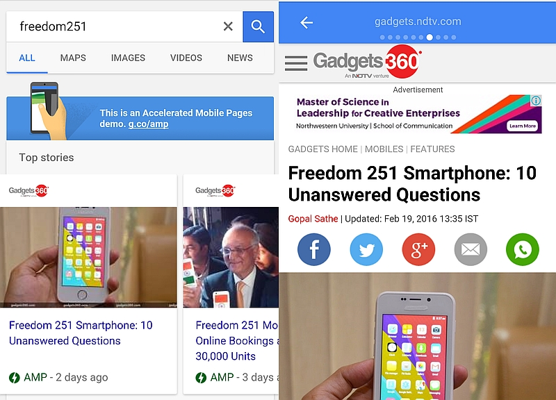 Google's Accelerated Mobile Pages are Coming: Here's What You Need to Know