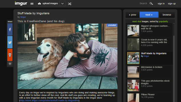 Imgur Launches Revamped Android App, Introduces Promoted Posts on Web