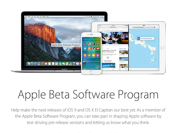 iOS 9 and OS X El Capitan Betas Now Available for Public Download