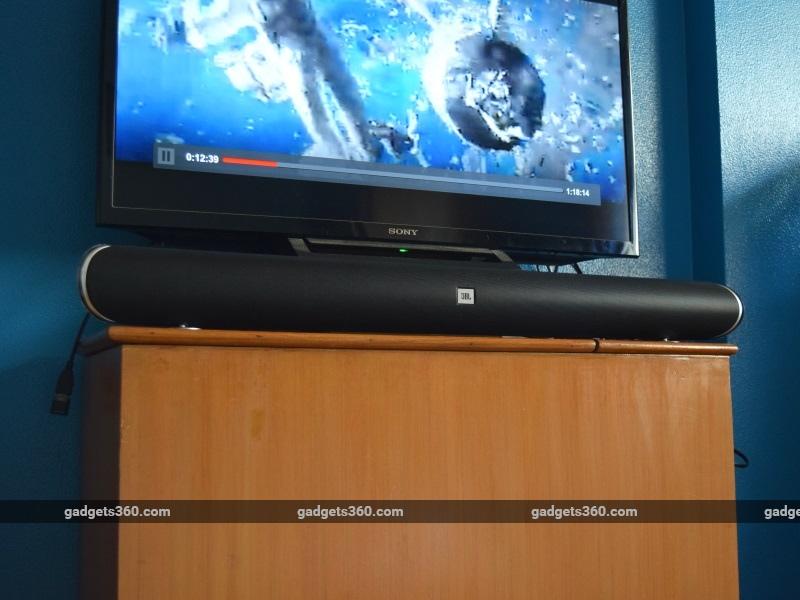 jbl cinema sb250 soundbar review ndtv. Black Bedroom Furniture Sets. Home Design Ideas