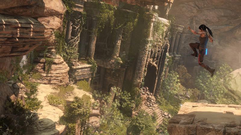 jump lara croft rise of tomb raider pc square