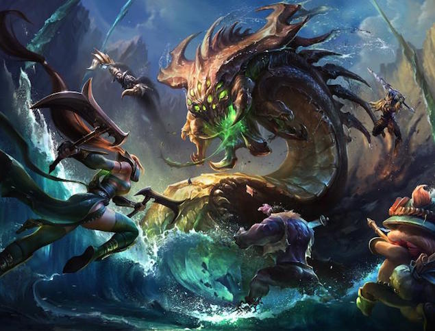 Riot Games Building Its Own Network to Make League of Legends Lag-Free