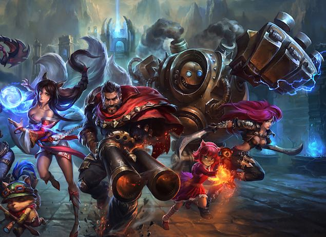 Microsoft to Bring League of Legends MOBA to Windows 10