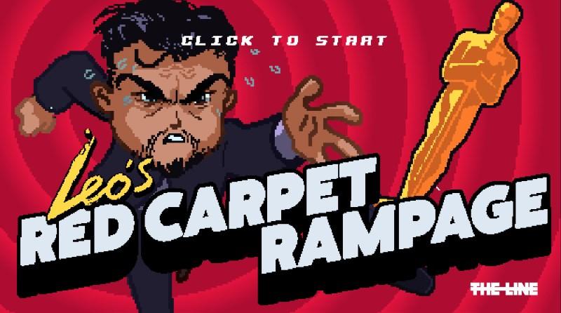 Get Leo DiCaprio His Elusive Oscar in This Arcade Game