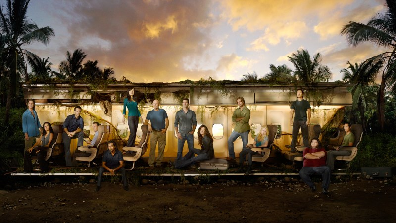 The cast of Lost (TV show) in a promotional still