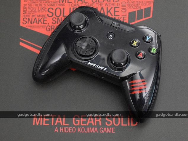 Mad Catz C T R L i Review: Console Quality iOS Gamepad | NDTV
