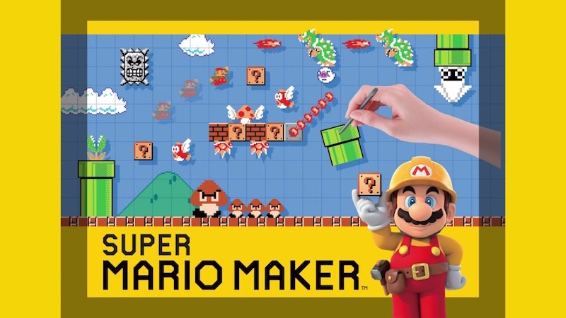 Super Mario Maker Announced for the Nintendo 3DS