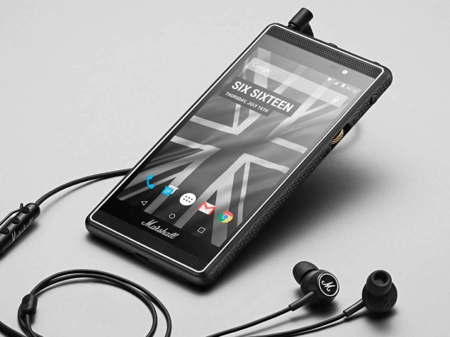 Marshall London Is the Smartphone That Audiophiles Will Love