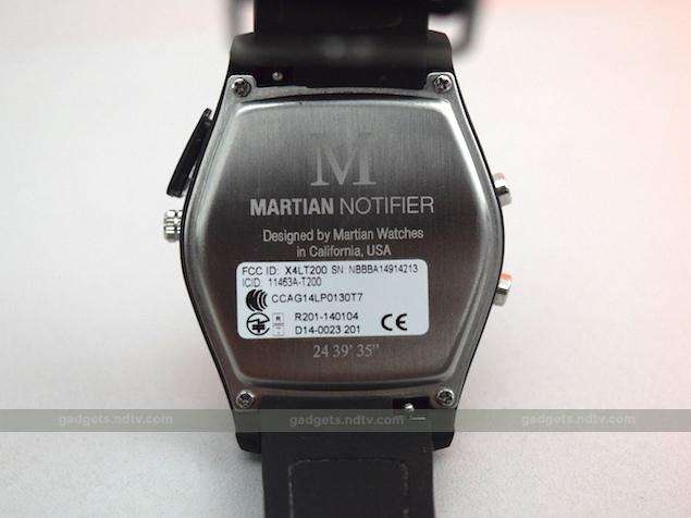 martian watch notifier