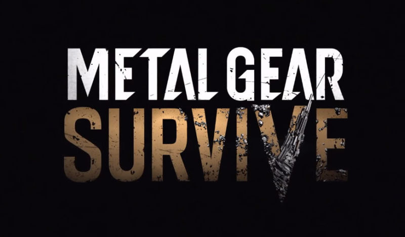 Metal Gear Survive for PC, PS4, and Xbox One Announced