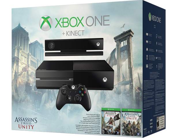 Xbox One Kinect Bundle With Assassin's Creed Games Coming