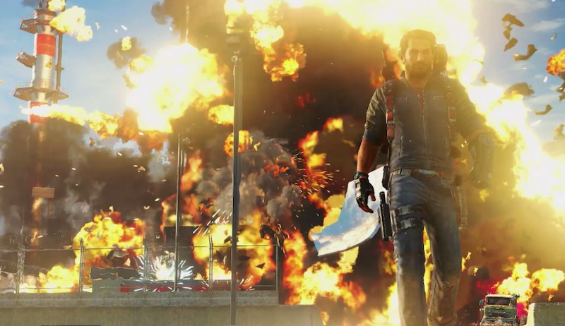 Just Cause 3 Has More Explosions Than a Michael Bay Movie