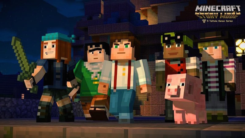 Netflix to Get Minecraft: Story Mode but Has 'No Plans to Get Into Gaming'