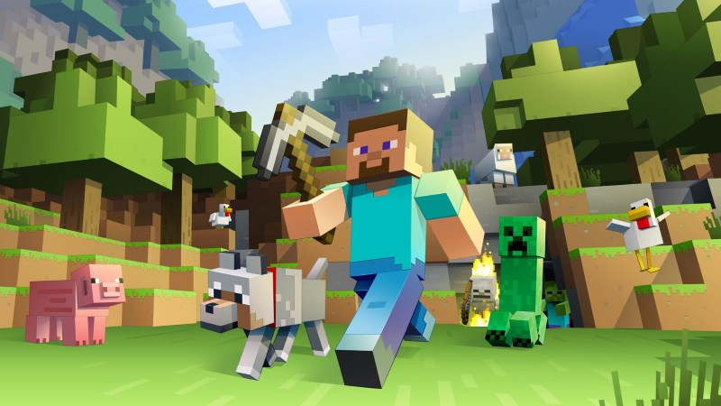 Microsoft Showcases Minecraft in VR, Coming to Oculus Rift