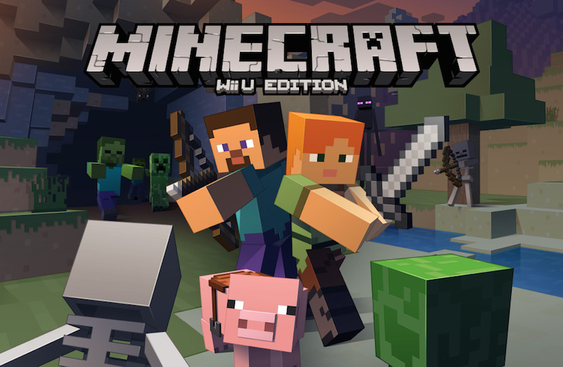 Minecraft Finally Makes Its Way to the Wii U