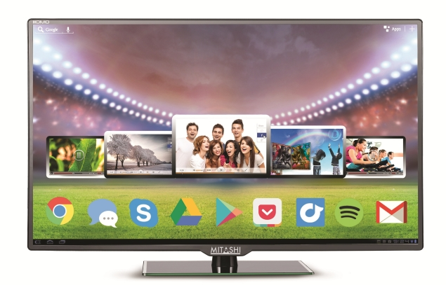 Mitashi Launches 50-Inch Smart LED TV With Android 4.4 at Rs. 51,990