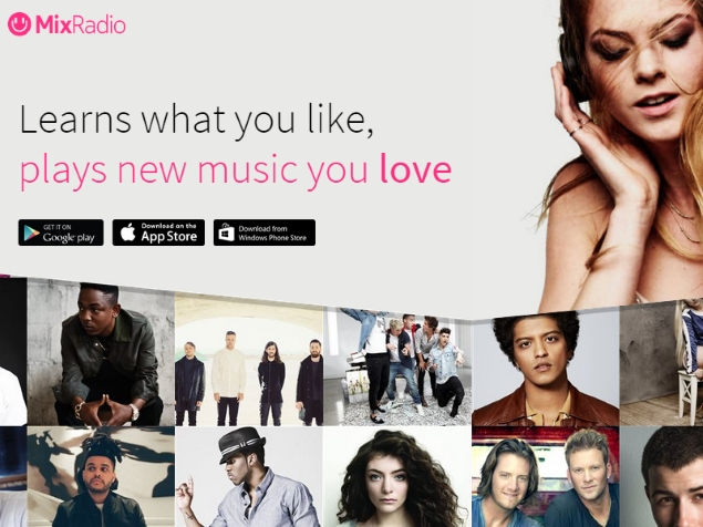 MixRadio Finally Launched for Android and iOS