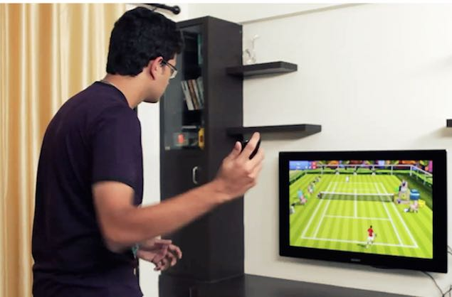 Turn Your Android Phone Into a Tennis Racquet with Motion Tennis Cast