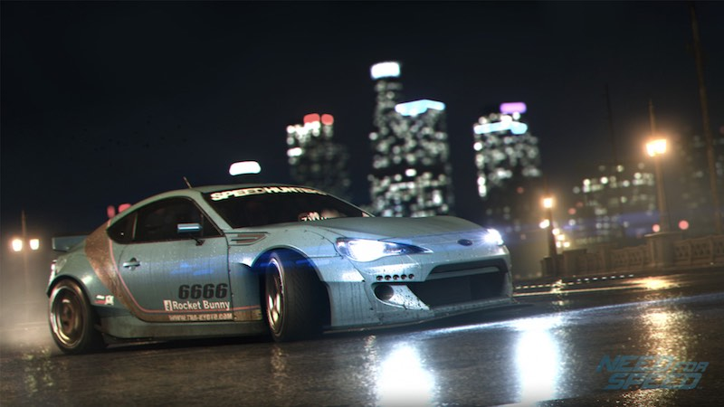 Need for Speed Additional Content to Be Free: Ghost Games