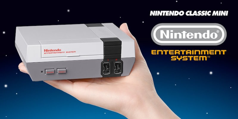 Nintendo Launches NES Classic Edition With 30 Built-In Games Like Mario, Pac-Man