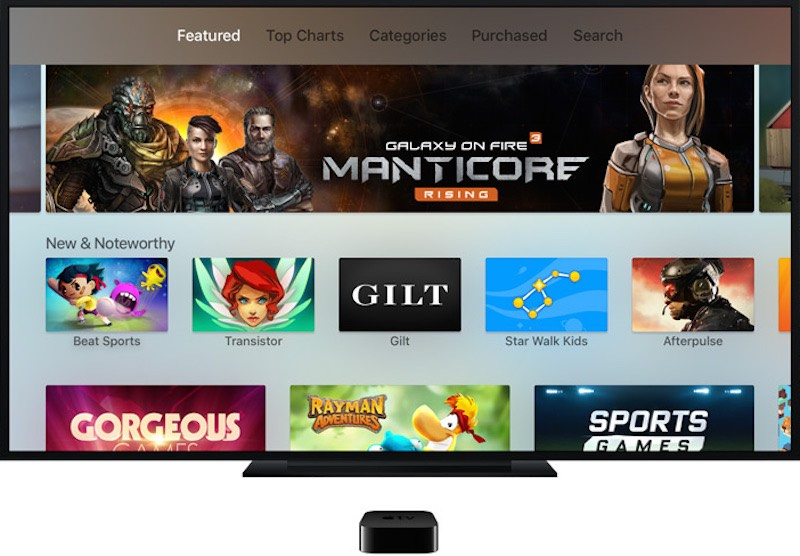 The New Apple TV Comes With Old, Familiar Gaming Experiences