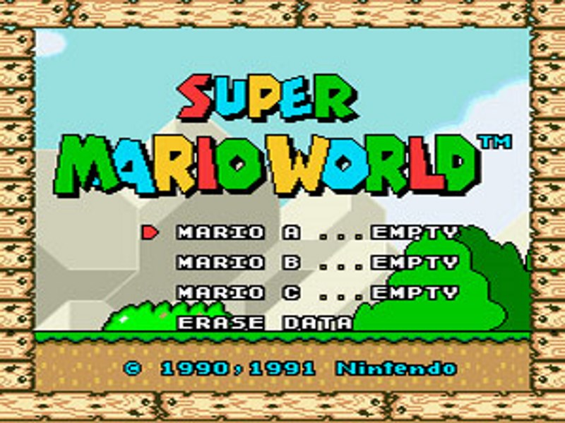 Super Mario World and Other SNES Classics Headed to New 3DS
