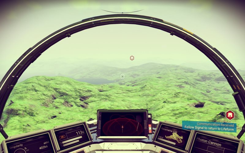 No Man's Sky: Gather-Build-Repeat in First Three Hours