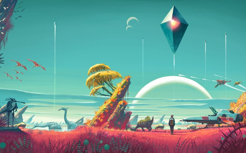 No Man's Sky Story, Space Combat, and Exploration Changed Ahead of Xbox One Launch