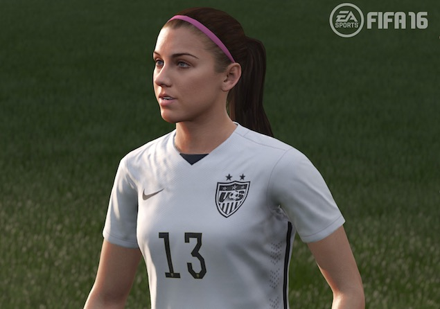 It Only Took 22 Years but FIFA Will Finally Have Women Players in FIFA 16