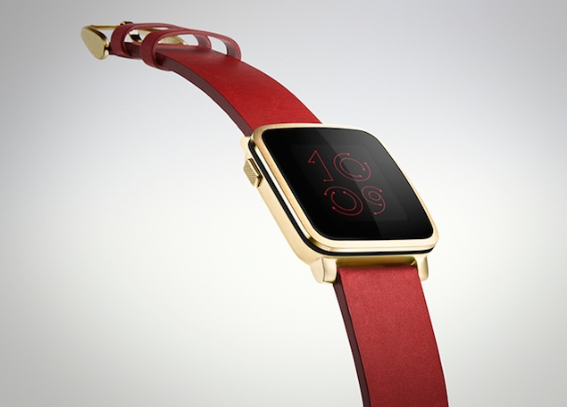 Pebble Time Steel Launched, Looks a Lot Like the Apple Watch