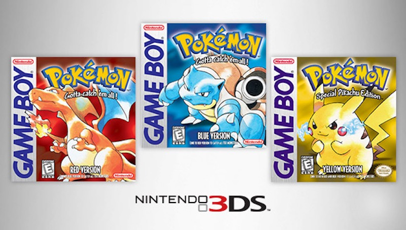 Pokemon Blue, Red, Yellow Due in February; Pokemon Go and Z Dates Teased