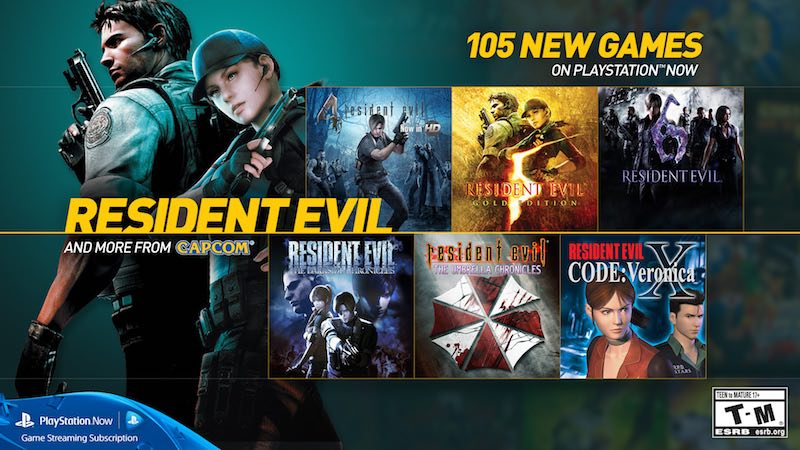 Sony Adds 105 Games to Netflix-Like PS Now Game Streaming Service