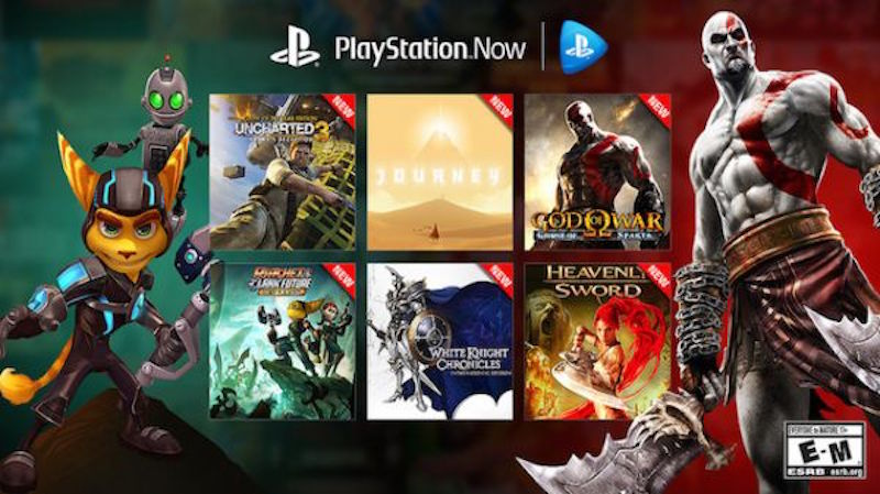 Sony's PlayStation Now Game Streaming Service Gets 40 More PS3 Games
