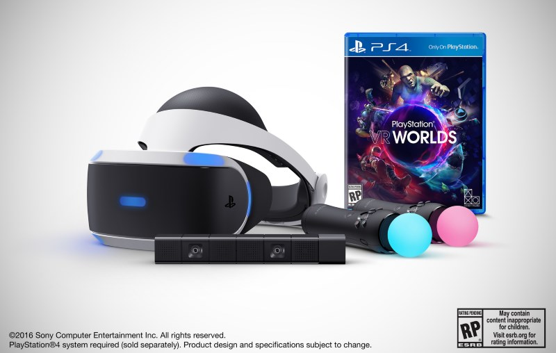 PlayStation VR Launch Bundle With Camera Available for Pre-Order Tuesday