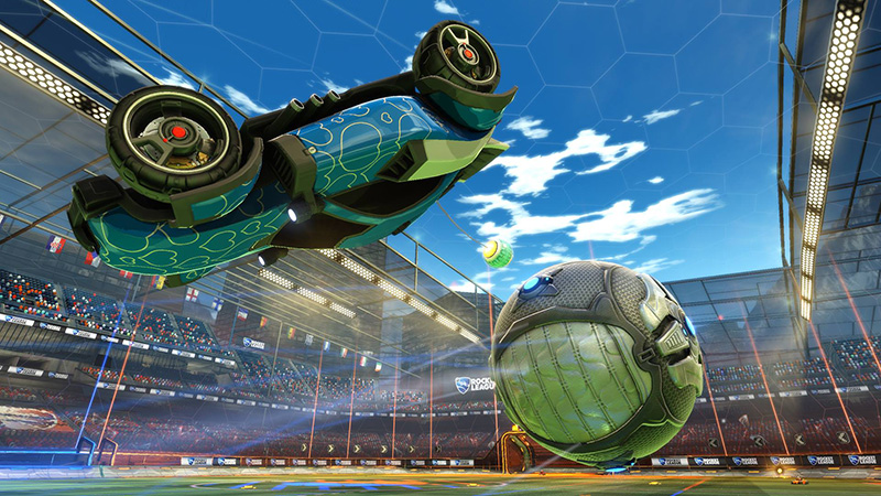 Rocket League Kicks Off February 17 on Xbox One
