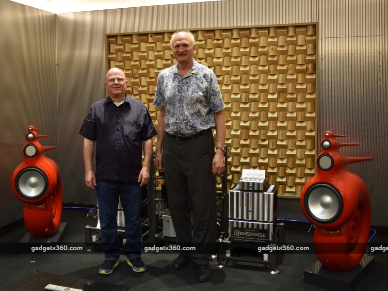 Jeff Rowland and Ray Kimber Talk on 'Active Listening' and the Audio Market in India
