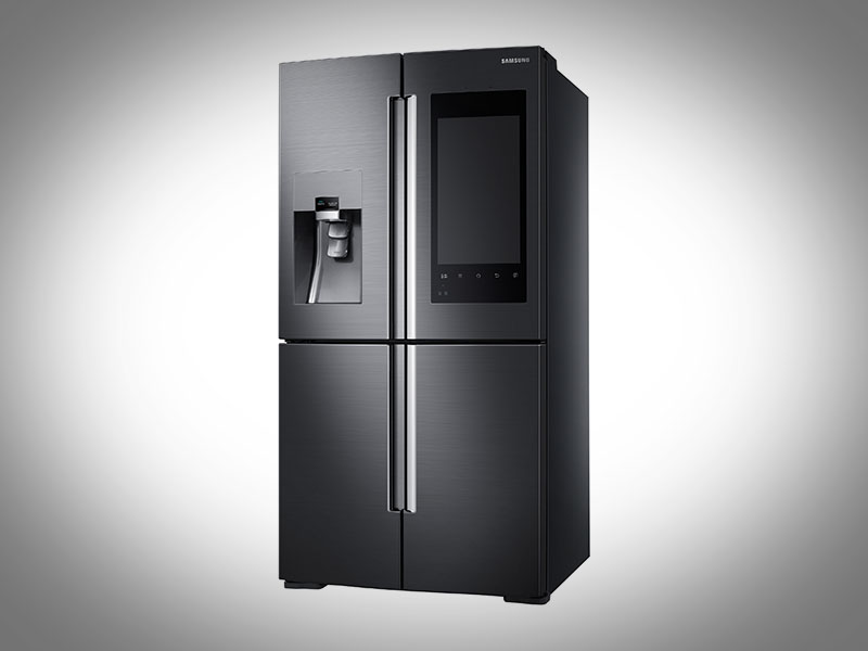Samsung Unveils Fridge With Camera, Giant Touchscreen Ahead of CES 2016