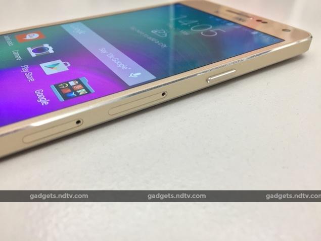 Samsung Galaxy A5 Right Ndtv