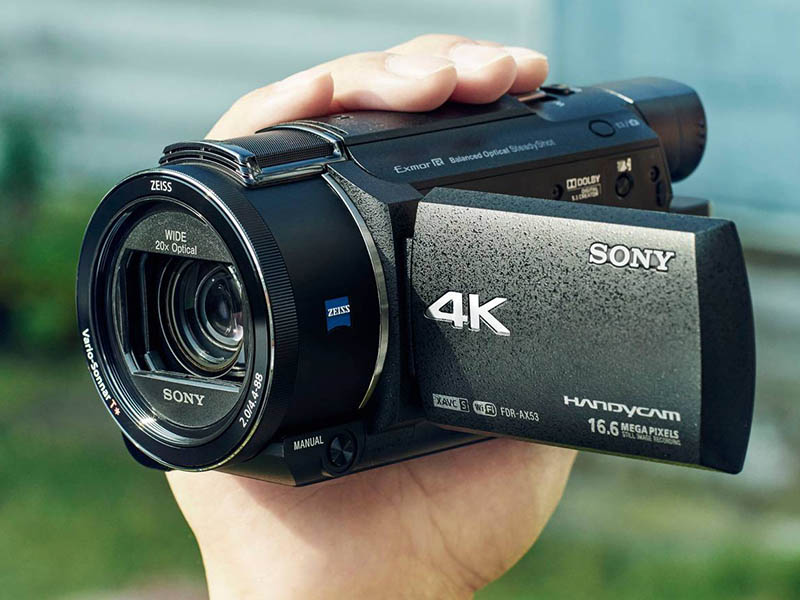 Sony Upgrades Entry-Level 4K Handycam and Action Cam at CES 2016
