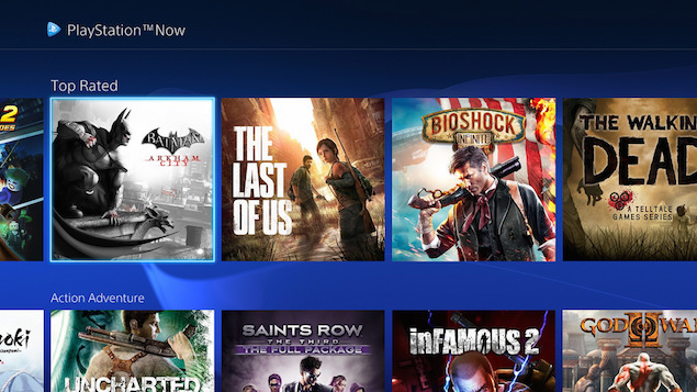 Sony Playstation Now Service Gets Major Ui Redesign