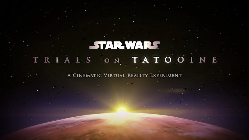 Star Wars: Trials on Tatooine Game for HTC Vive Leaked