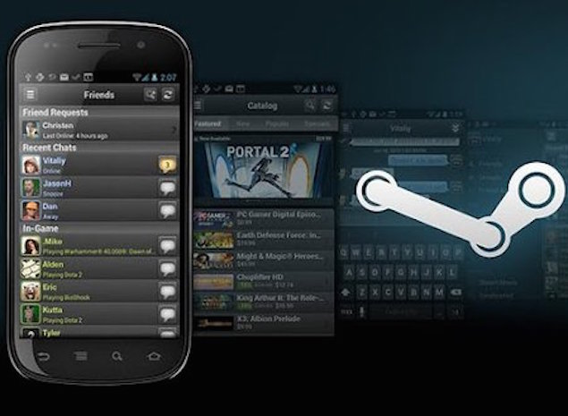Steam for Android Update Brings Material Design, Better Chat History, and More