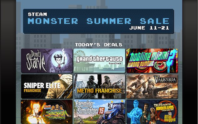 Steam Summer Sale Day One Picks: Valkyria Chronicles, Metro Redux, and More