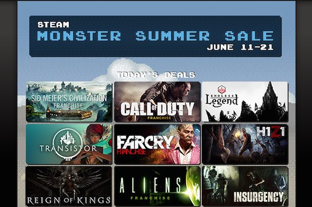 Steam Summer Sale Day Four Picks - Call of Duty: Advanced Warfare, Transistor, and More