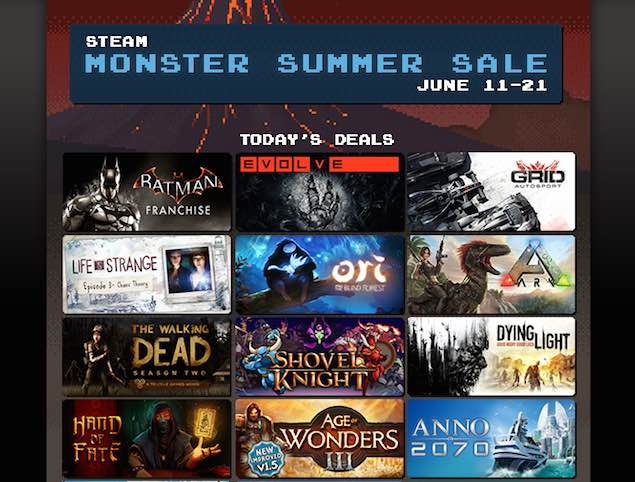 Steam Summer Sale Day Eight Picks - Batman, Grid Autosport, and More