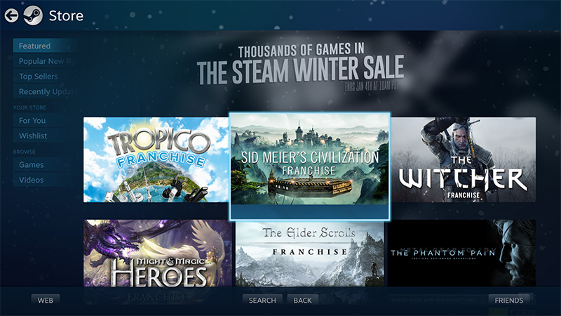 The Best Deals of the Steam Winter Sale