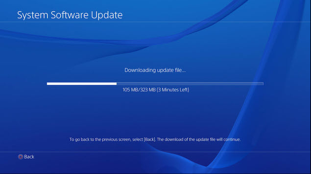 How to Update Your PS4
