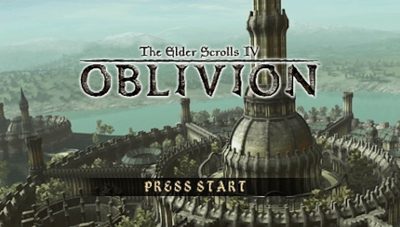The Elder Scrolls Travels: Oblivion PSP Footage Shows Off What Could Have Been