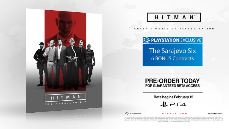 Hitman PS4 Beta Date, Story Details Revealed