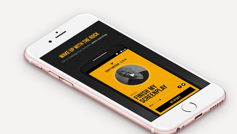 Dwayne 'The Rock' Johnson Has Launched a New Alarm App